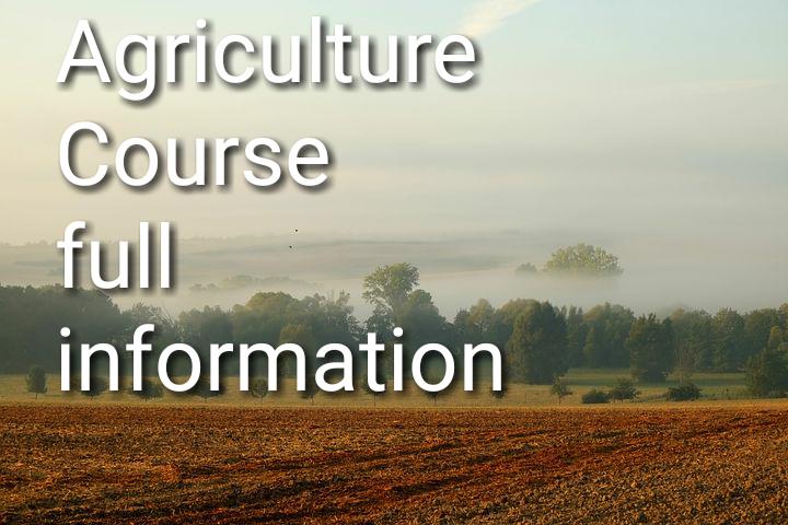 Agriculture course में हैं हजारों करियर ...