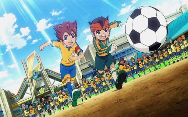 Inazuma Eleven adalah anime sepak bola yang seru