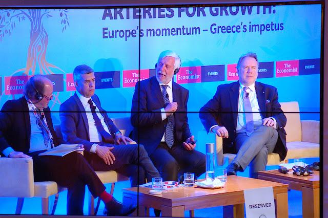 Σημαντικό γεγονός το 1ο διημερο Συνέδριο του Economist στο Λουτράκι