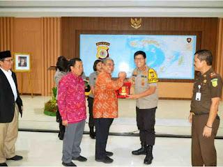Mahkamah Kehormatan Dewan (MKD) DPR-RI Sambangi Polda dan Kejati Maluku