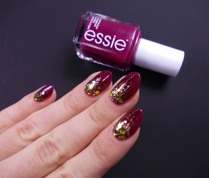 Review: Sparkly nails with Born pretty store glitter - Hysteria Of Decay