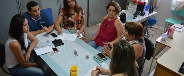 Saúde na Escola foi tema de mais uma reunião entre secretarias de Educação e Saúde de São Pedro da Aldeia