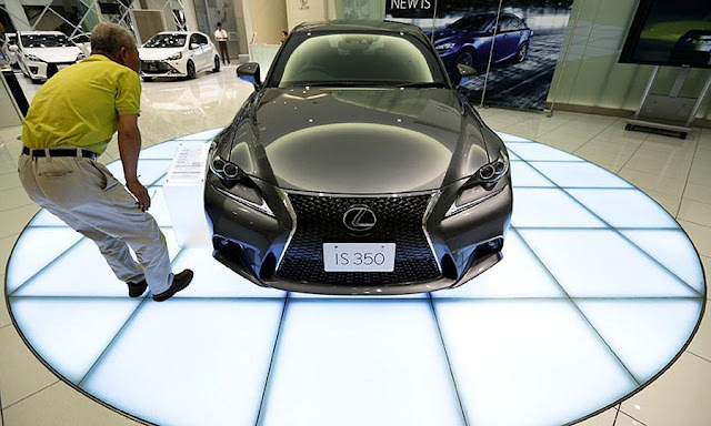 Lexus has been at the top of the J.D. Power survey for six consecutive years.