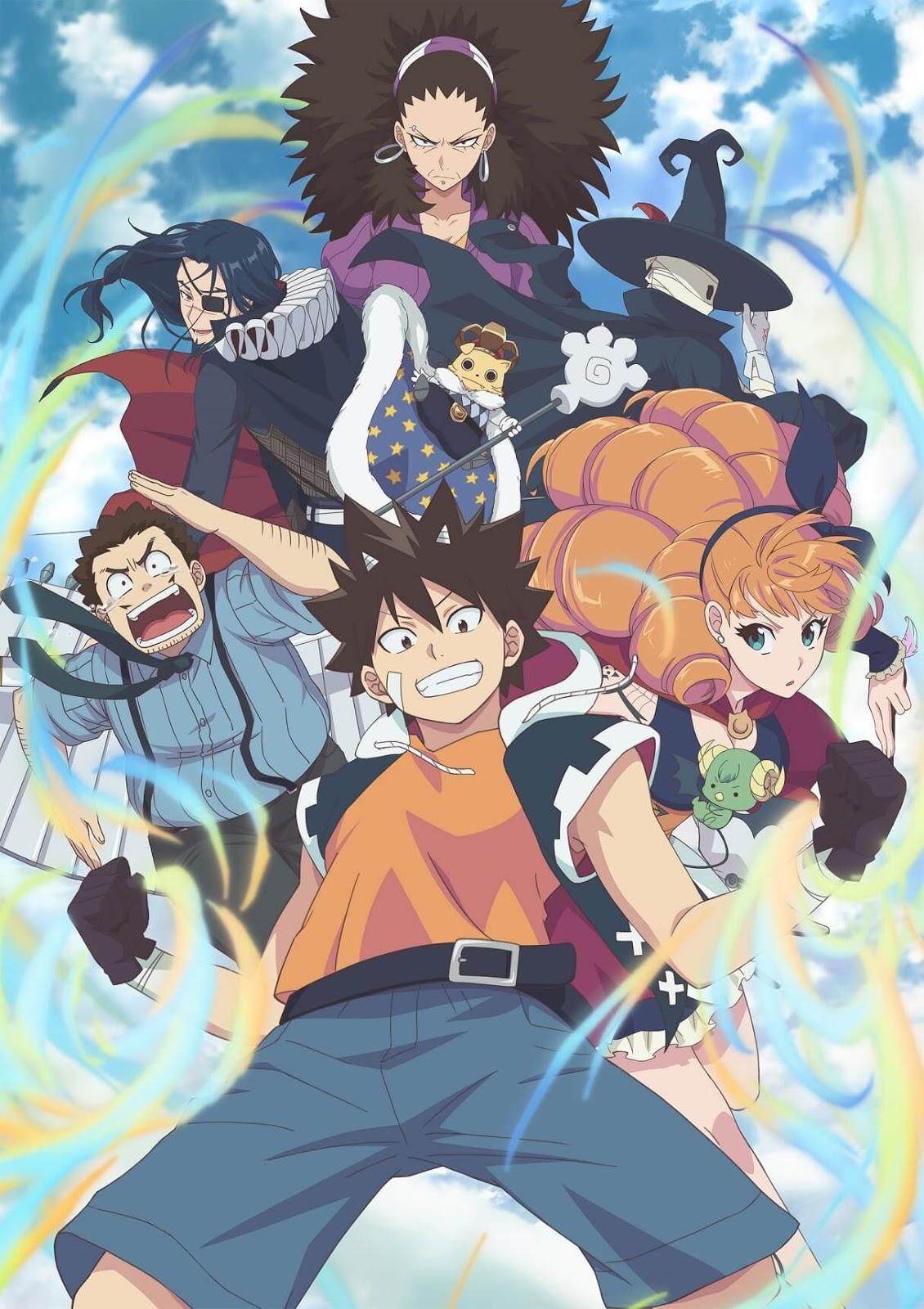Radiant - anime baseado em mangá francês estreia em outubro