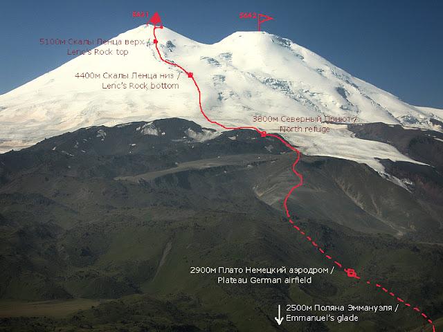 подъем на Эльбрус экспедиции Эммануэля