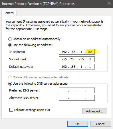 Cara merubah IP Address di Windows