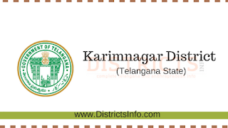 Karimnagar District New Revenue Divisions and Mandals