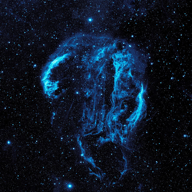 Supernova Remnant: The Cygnus Loop Nebula