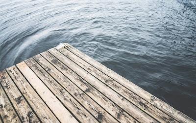 lake wooden pier widescreen resolution hd wallpaper