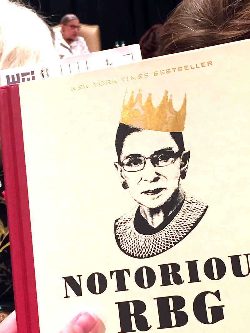 notorious rbg on law life papillon chaz style