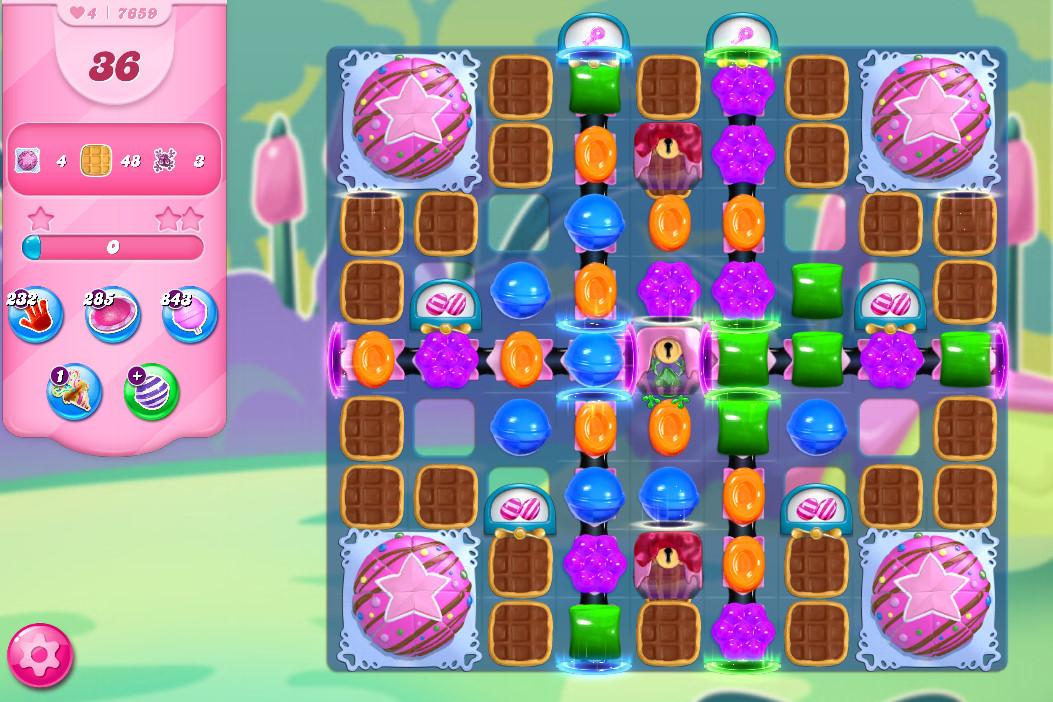Candy Crush Saga level 7659