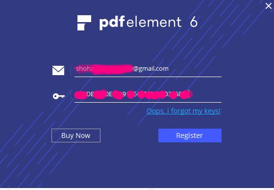 PDFelement 6 pro version activation