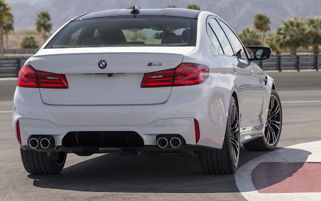 Novo BMW M5 2019 - Brasil