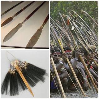 kebudayaan senjata papua