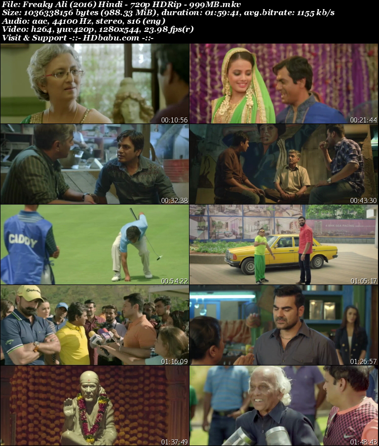 Freaky Ali 2016 Hindi Full Movie Download Free, Freaky Ali Full HD Movie Download Free MKV HD Watch Online Torrent Download 720p Bluray 480p HDRip 1GB 350mb