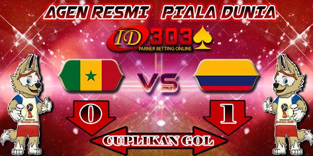 CUPLIKAN GOL SENEGAL 0 - 1 COLOMBIA