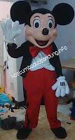 gambar mickey mouse badut karakter 2016