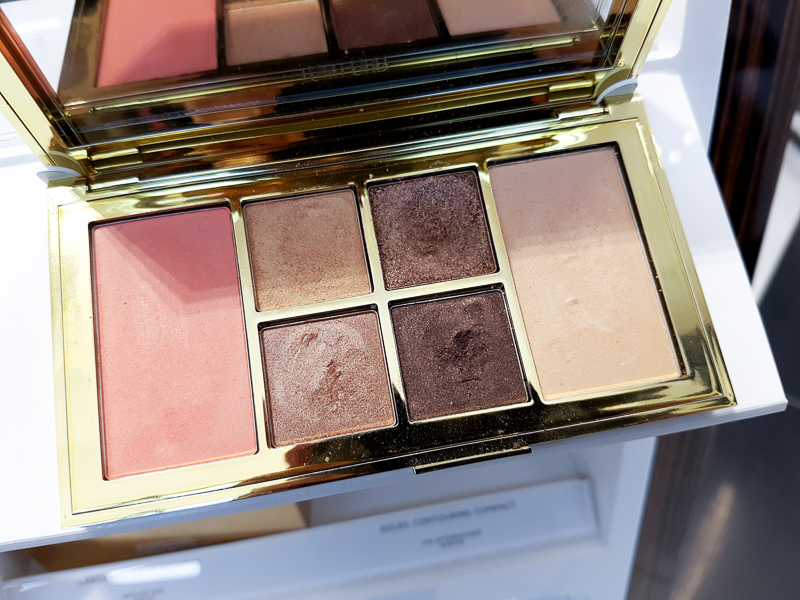 Tom Ford Soleil Eye and Cheek Palette - Warm - Swatches