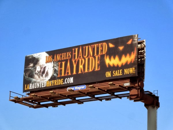 LA Haunted Hayride 2013 billboard