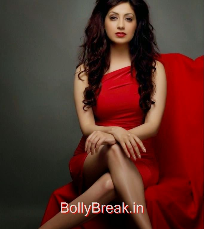 Gurleen Chopra, Hot HD Images Of Gurleen Chopra In Red Dress