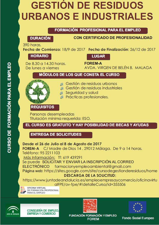 Ecoforman blog for Oficina virtual junta de andalucia educacion