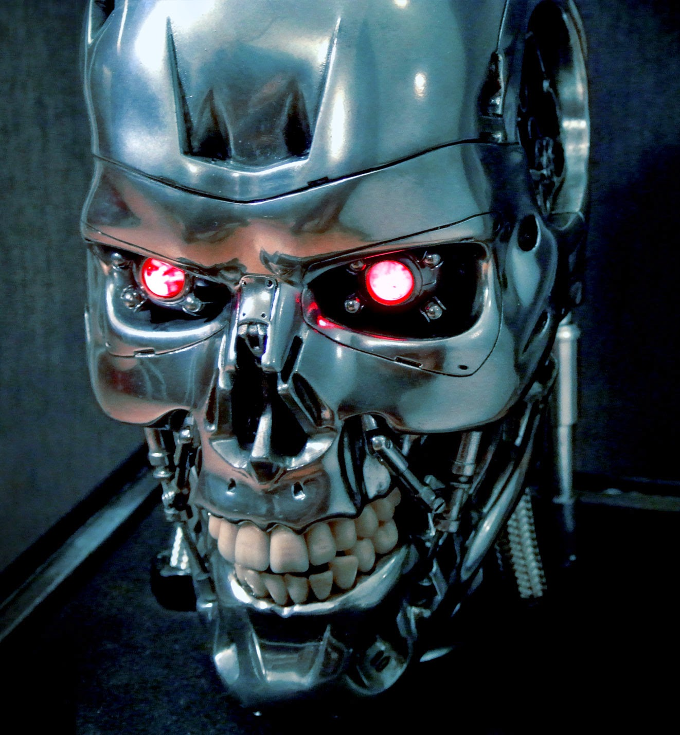 Email This BlogT...T 800 Terminator Skull
