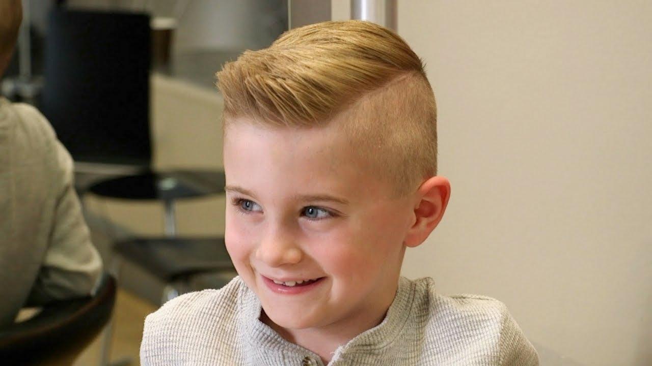 Potongan rambut undercut untuk anak anak