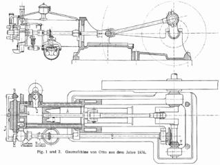Η Gaskraftmaschine του 1876