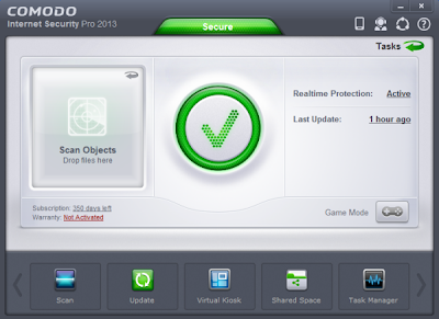 Comodo Internet Security Pro 2013 v6.0.264710.2708 Incl 1 Year Serial Key