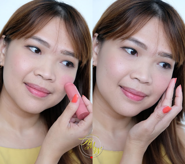 a photo of Palladio I'm Blushing! 2-in-1 Cheek and Lip Tint Review