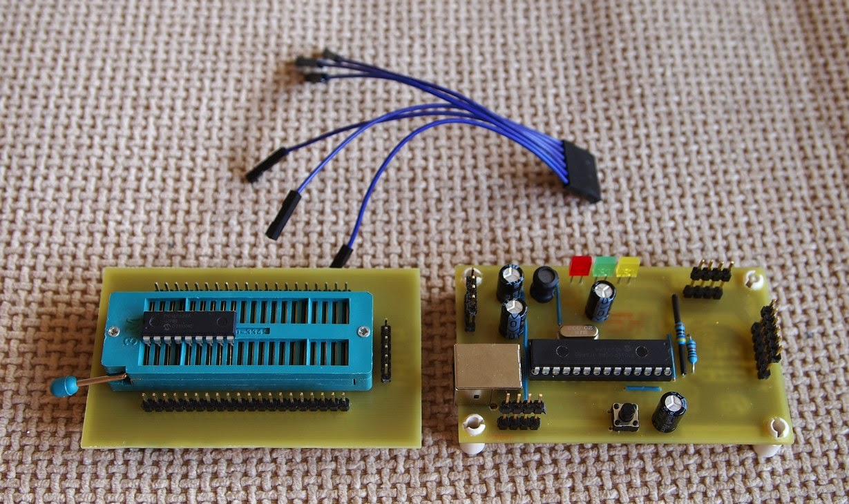 Here how I made the ZIF socket adaptor: