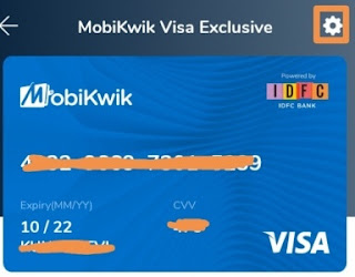 how to get mobikwik exclusive prepaid card