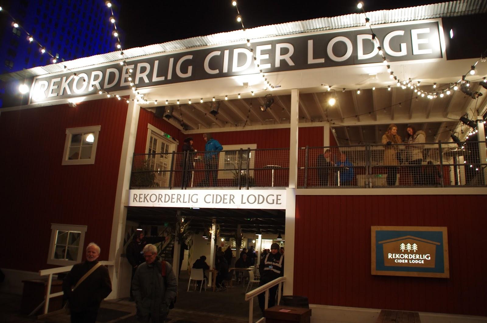 Rekorderlig Cider Lounge Southbank London