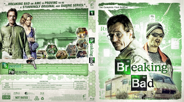 Breaking Bad Season 1 Bluray Cover