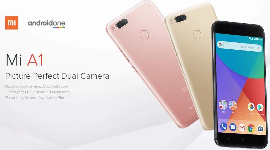 Harga dan Spesifikasi Xiaomi Mi A1 Smartphone Android One Terbaik