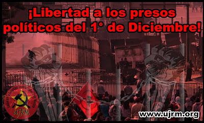 Libertad a los presos políticos 1 de Diciembre