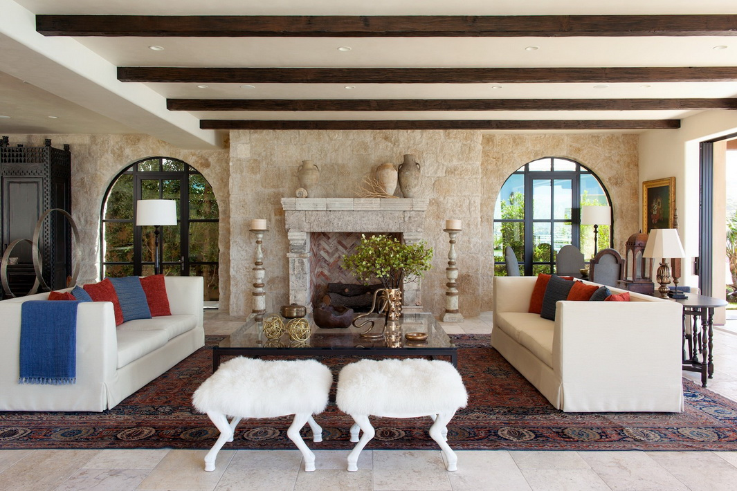 дизайн дома в средиземноморском стиле фото