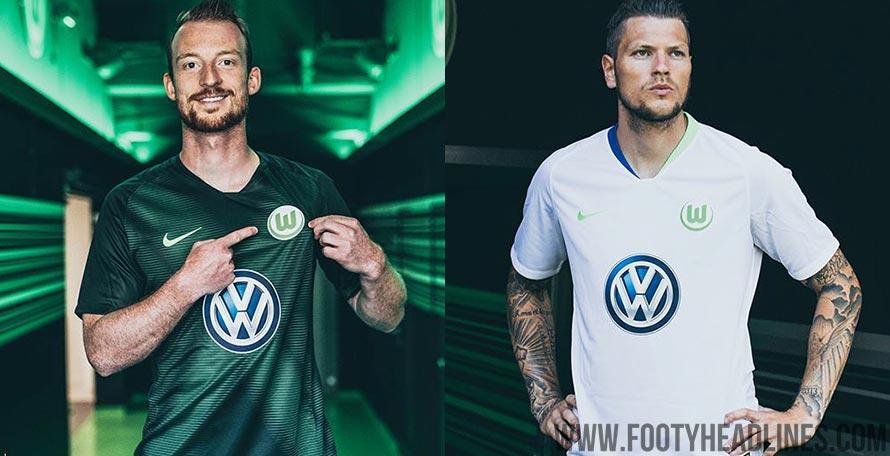 cheaper a1811 84fcc Nike Wolfsburg 18-19 Home & Away Kits Released - Footy Headlines