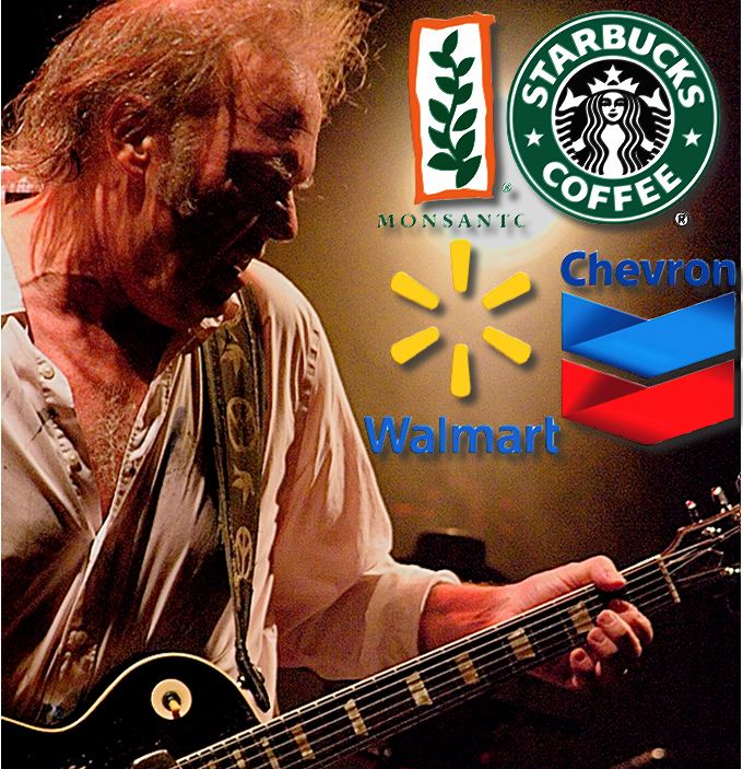 Neil Young, Monsanto, Starbucks & Co.