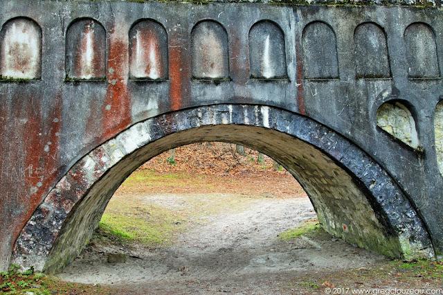 L'aqueduc dans sa traversée du Coquibus