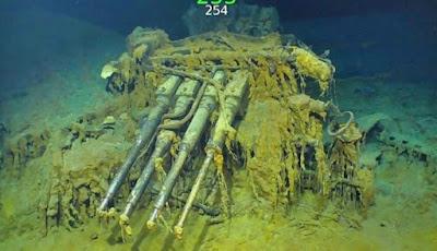Kapal Karam USS Lexington Ditemukan setelah 76 Tahun
