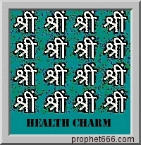 Hindu Good Health Charm
