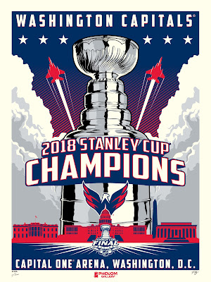 Washington Capitals 2018 Stanley Cup Champions Screen Prints by M. Fitz x Phenom Gallery