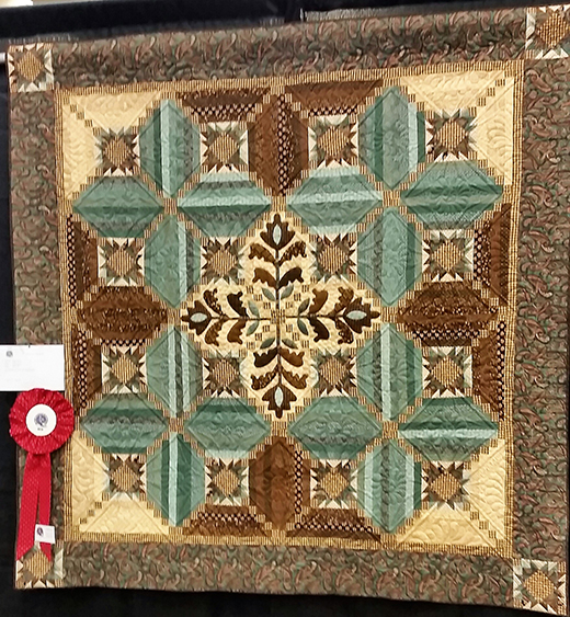 Fiddlesticks and Fancies Quilt from Black Canyon Quilt Show, The Pattern designed By Kim Diehl for Henry Glass Fabrics