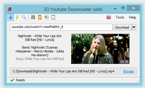 Download 3D Youtube Downloader Offline Installer