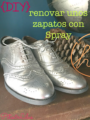 DIY RENOVAR UNOS ZAPATOS CON SPRAY CROMO