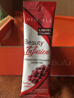 neocell beauty infusion in cranberry packet