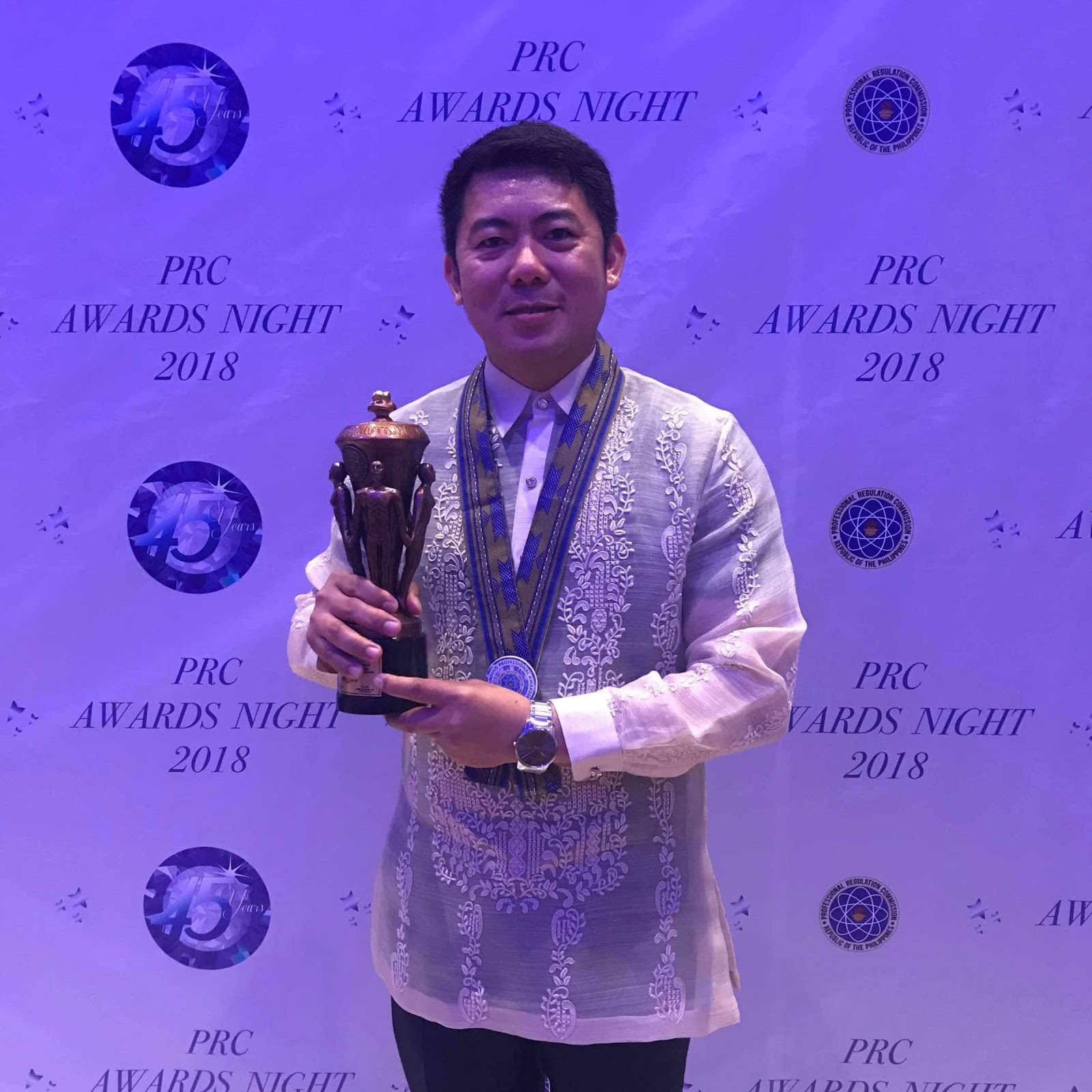 "Engr. Jethroefel ""Jet"" Ramboyong PRC Awards"