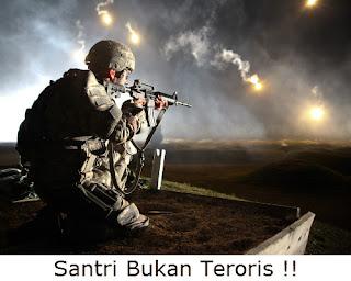 santri bukan teroris