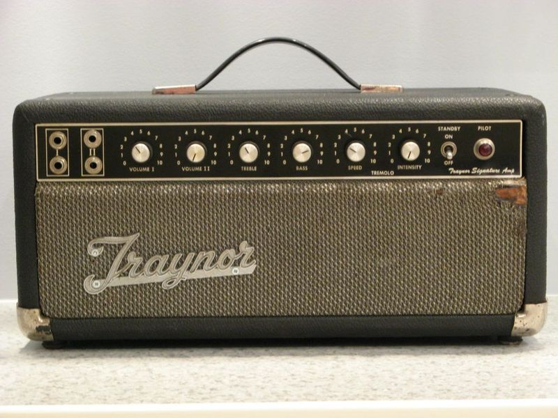 Vintage traynor amplifiers interesting moment